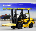 new Original 1:20 Chery forklift Alloy forklift truck model Collection model