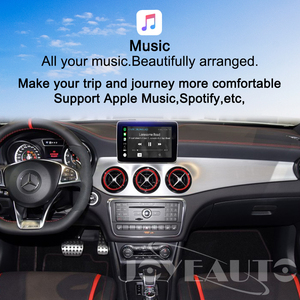 Image 4 - Joyeauto אלחוטי Carplay אנדרואיד אוטומטי עבור מרצדס GLS NTG5 Retrofit תמיכה אחורי מצלמה דינמי הנחיות רכב לשחק מתאם