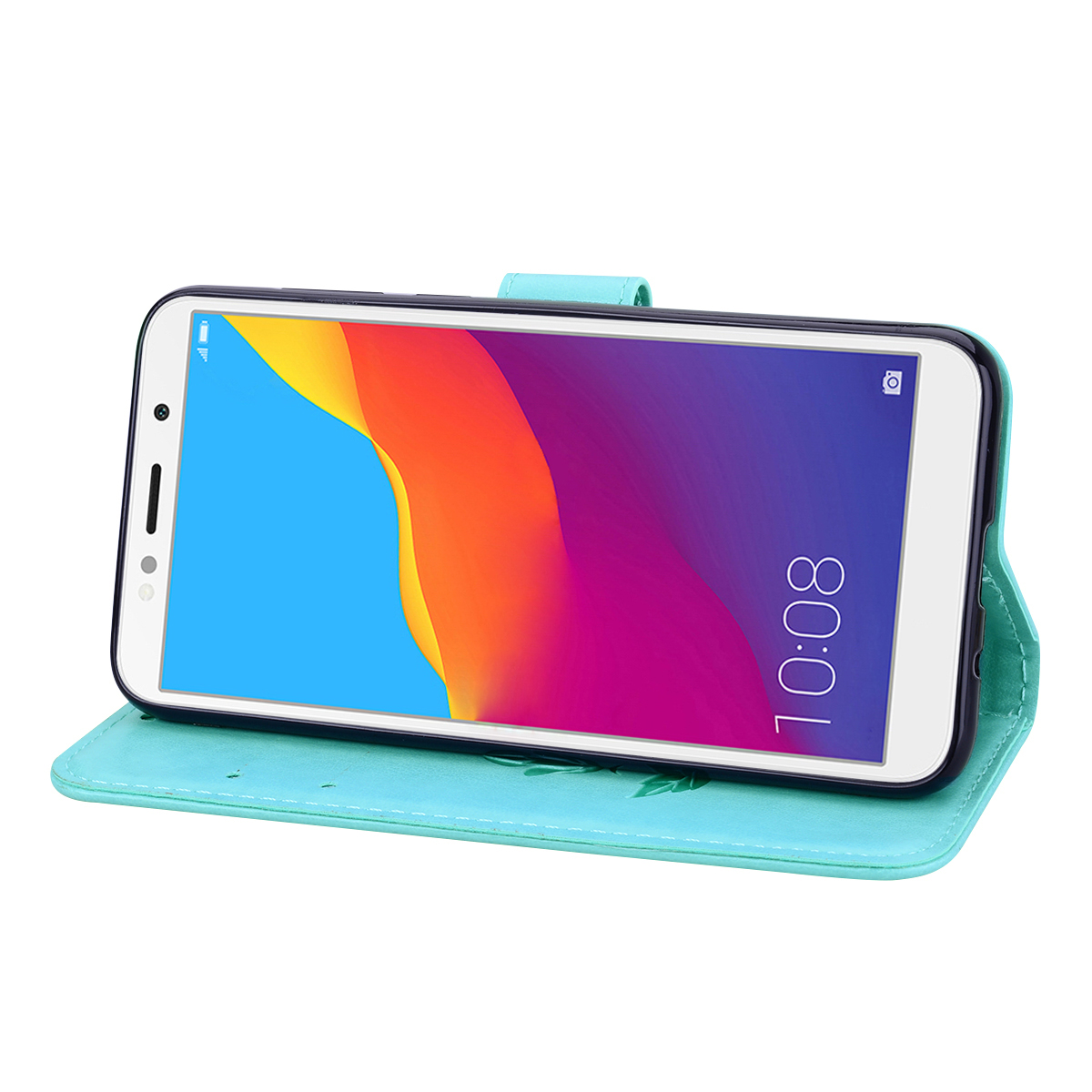 Y5(2019) Case Leather Flip Case on For <font><b>Huawei</b></font> Y5 2019 Coque Wallet Magnetic Cover for <font><b>Huawei</b></font> Y5 2019 <font><b>Y</b></font> <font><b>5</b></font> <font><b>2018</b></font> Phone Cases image