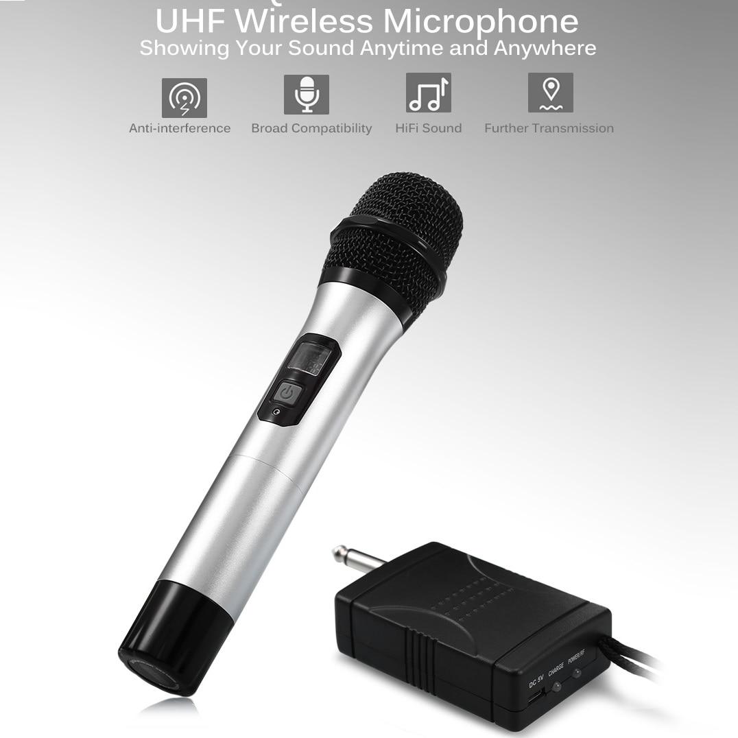 mesuvida uhf wireless studio microphone handheld mic karaoke microphone for recording speech. Black Bedroom Furniture Sets. Home Design Ideas