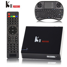 [Véritable] KII Pro Tv Box DVB-T2 DVB T2 + S2 Amlogic S905 Quad-core 2 GB/16 GB Android 5.1 Tv Box Bluetooth 2.4G/5G Wifi Set Top boîte