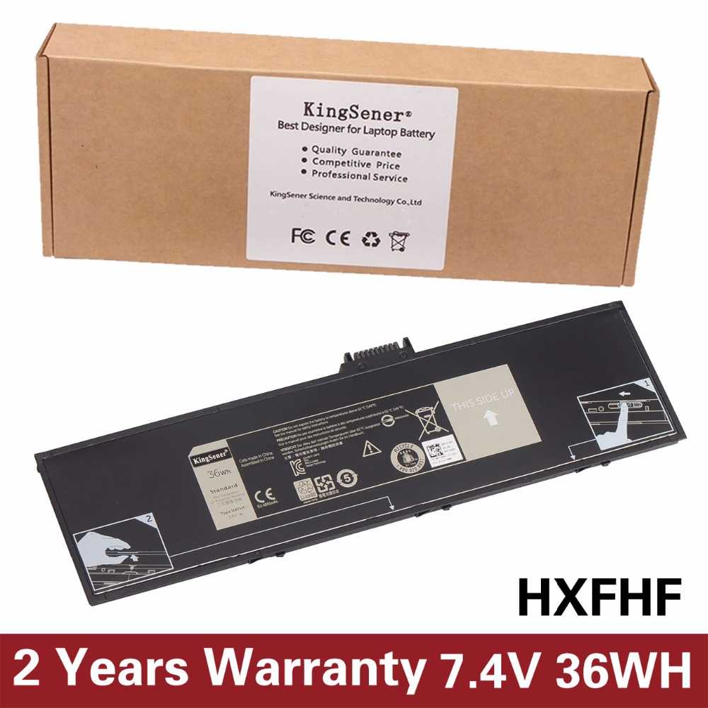 KingSener New HXFHF Battery For DELL Venue 11 Pro 7130 Tablet PC V11P7130 VJF0X HXFHF 7.4V 36WH Free 2 Years Warranty russia made фигурка дед мороз с медведем резной 22см