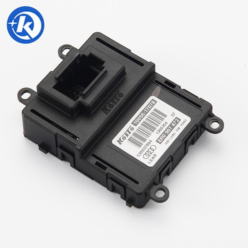 AUD-I Part# 8R0-907-472 LED Headlights DRL Ballast KOITO 10056-17078 Control Module for Audi Q5 koito 471