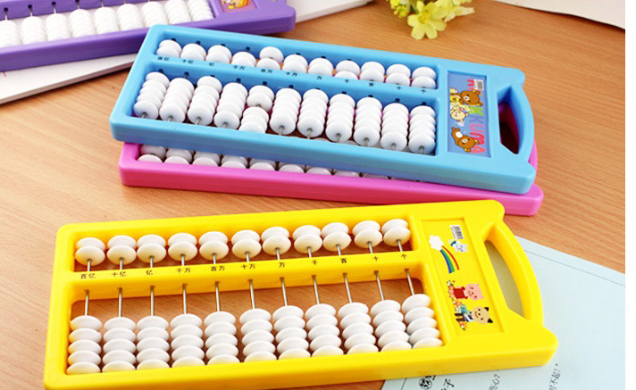 Stationery Elementary School Supplies Award Children Abacus Teaching Aids Gift In Kindergarten Math Toy Educational Plastic