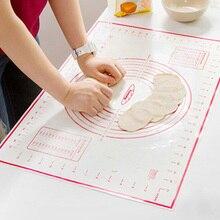 Антипригарные силиконовые коврики для выпечки лист для печи весы прокатки теста коврик Кухонные гаджеты Инструменты для приготовления пищи посуда для выпечки аксессуары