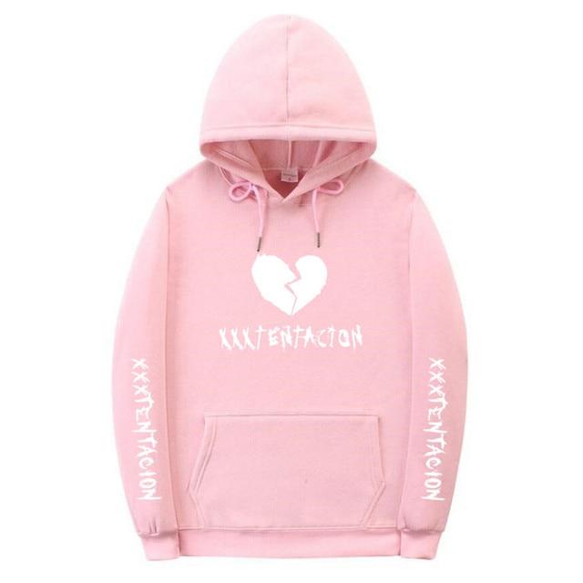 612923ff4cf Revenge XXXTentacion Kill MENS Sweat Hoodie Sweatshirt Pink Black Fashion  Hoodies Men Women Casual Hip Hop Fleece Pullover Hoody