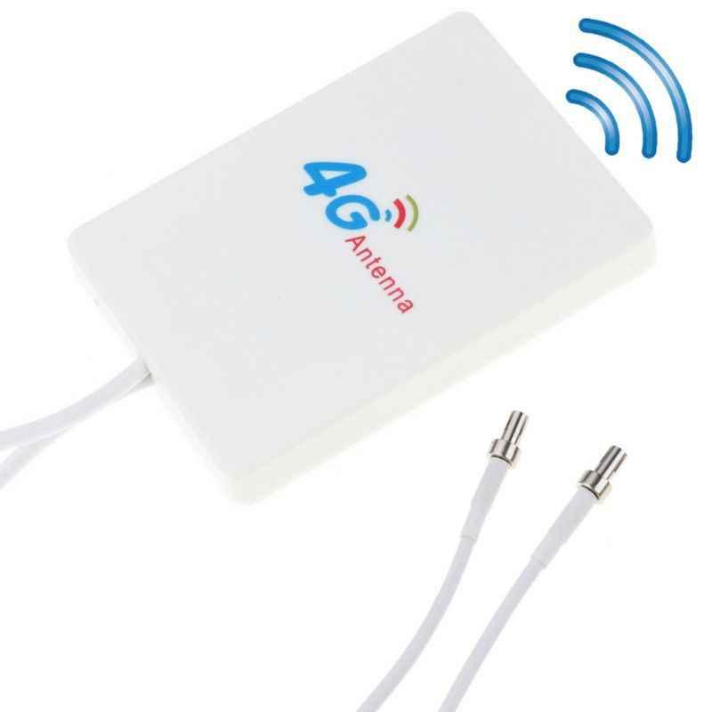 28dBi 3 グラム 4 4G LTE アンテナ TS9 ブロードバンドアンテナ信号アンプ 4 グラム 3 4G LTE モバイルルータ GDeals