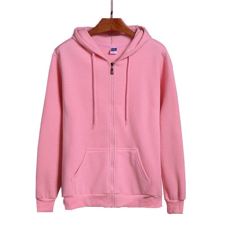 High Quality New Pink/Black/Grey/Red HOODIE Hip Hop Street Sweatshirt Skate Male/Female Pullover Hoodie Men's Zipper Hoodie