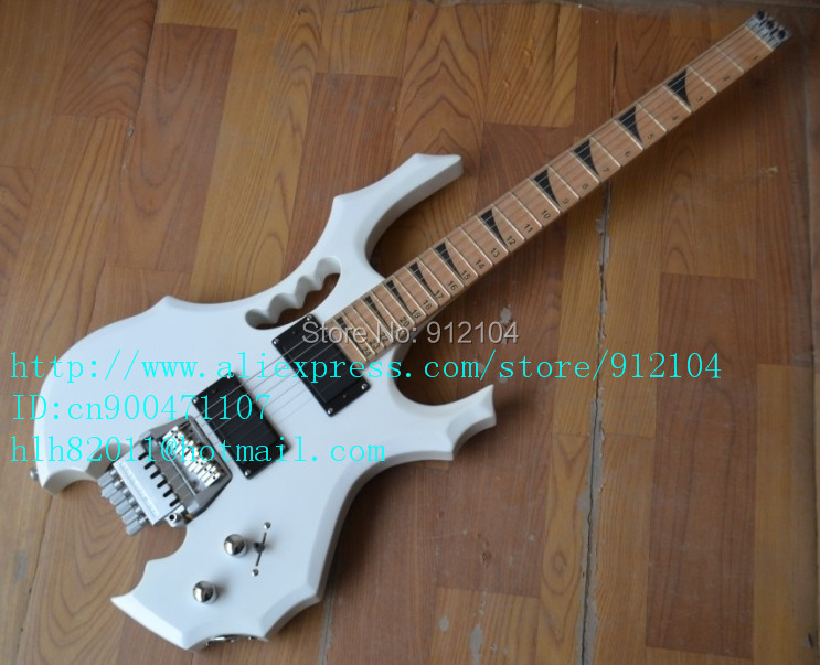 free shipping new Big John headless electric guitar with rosewood fingerboard in white  F-1600 аксессуар защитное стекло lg k10 skinbox 0 3mm 2 5d sp 229
