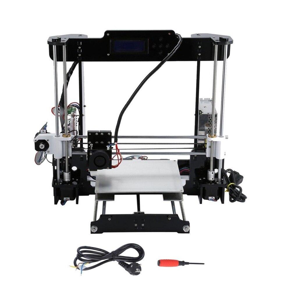 (Ship From DE)A8 3D Color Printing Printer LCD Panel & Button Two Color Printing DIY High Precision LCD Screen Printer EU Plug