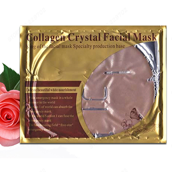 Wholesale Professional Skin Care Collagen Crystal Red Mud Facial Mask Exfoliator Crystal Mask