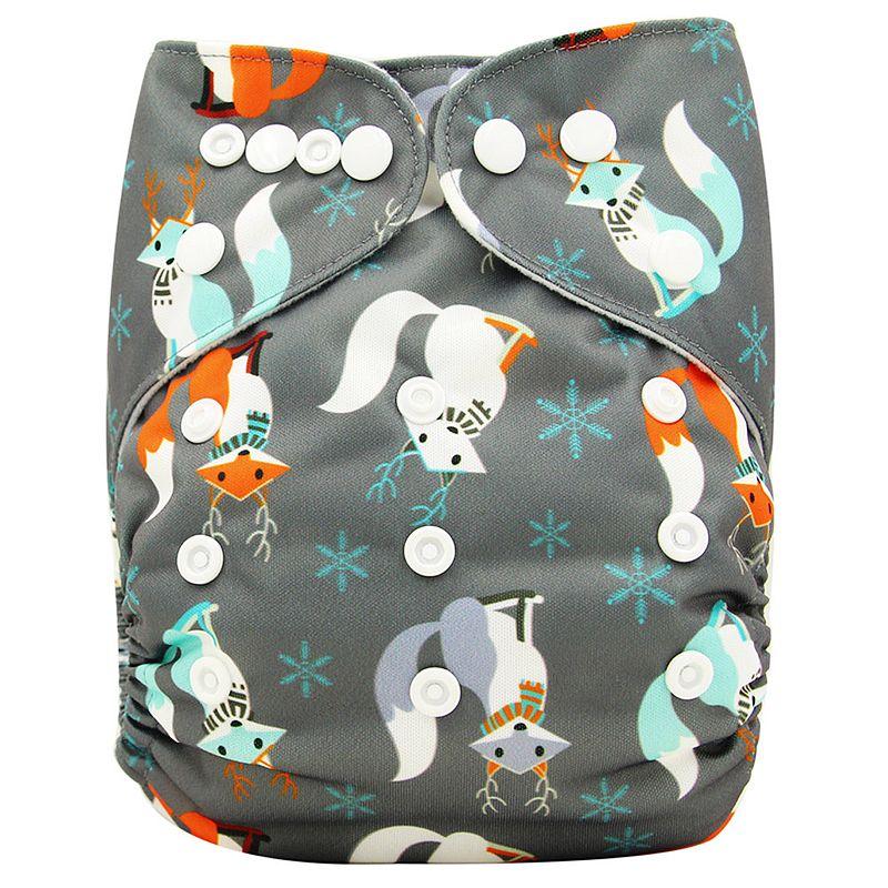 Ohbabyka, детские тканевые подгузники, многоразовые подгузники, унисекс, детские штаны для ухода за ребенком, водонепроницаемые тканевые подгузники с карманами, детские подарки для душа - Цвет: OB140