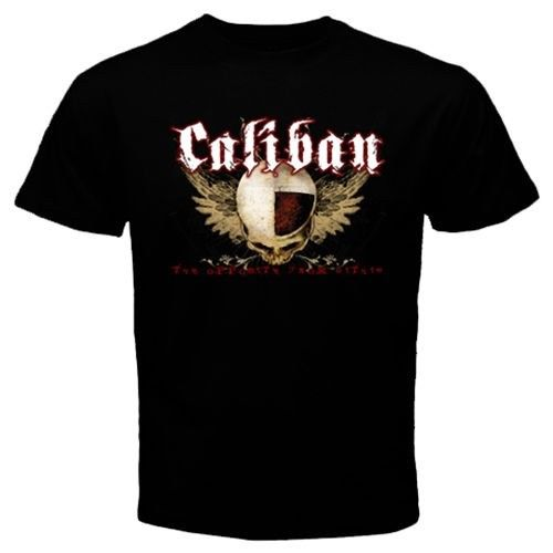 Cool CALIBAN five-piece metalcore band Heaven Shall Burn T-Shirt Movie Shirt