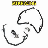 MTKRACING Crash bars Highway Bars engine hood stunt cage For HONDA X ADV X ADV XADV 750 2017 2019 engine protector bumpers