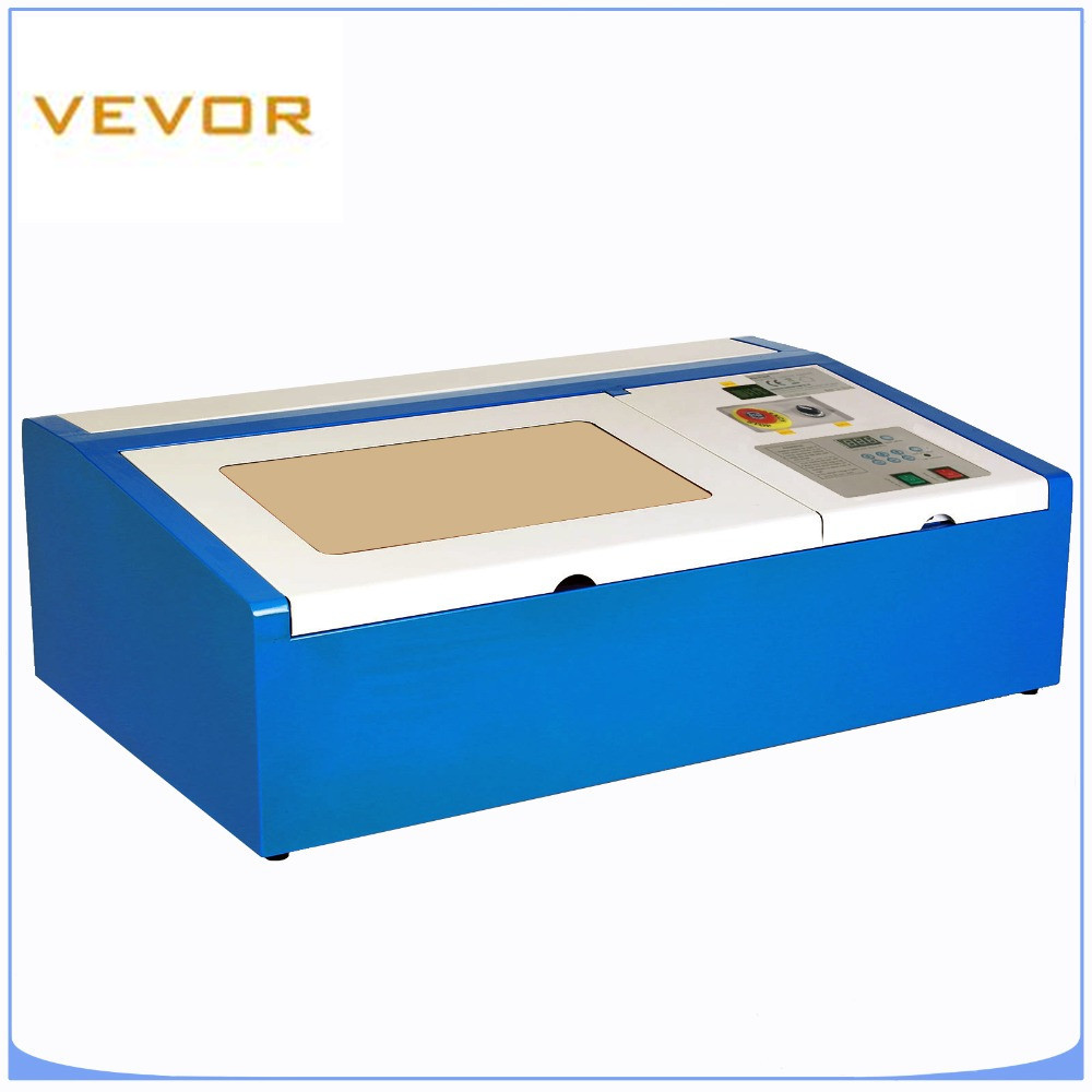 220V Mini Laser Engraving Machine 40W Laser Cutter USB CO2 Machine Working Area 30cm*20cm With Free Shipping To EU