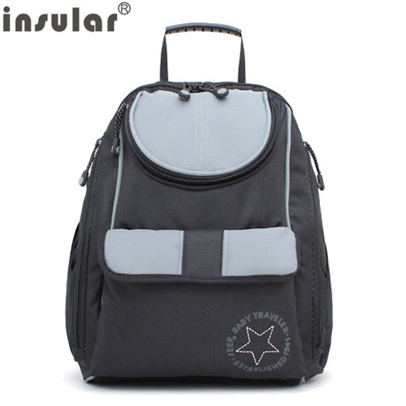 New Arrival Free Shipping Fashion Baby Diaper Bag Backpack Multifunctional Mommy Bags Waterproof Nappy Bags