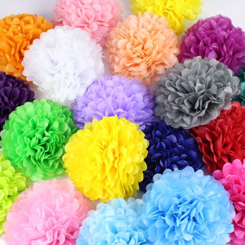 Aliexpress buy diy multi colors tissue paper pom poms for aliexpress buy diy multi colors tissue paper pom poms for wedding birthday party craft supplies paper flowers home decoration accessories from mightylinksfo