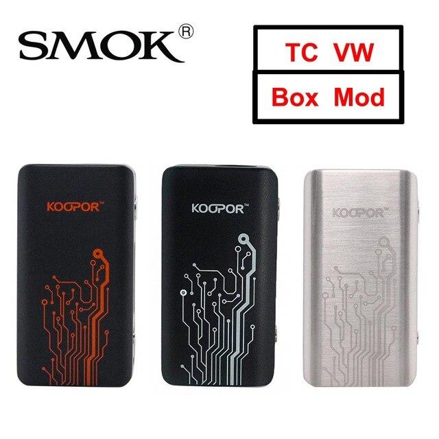 US $17 6 |Original SMOK KOOPOR MINI 2 Mod 80W TC VW Vape MOD Temperature  Control Electronic Cigarette Koopor Mini For 510 Thread Tank-in Electronic