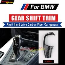 Fits For BMW X-Series X5 X6 E70 E71 F15 F16 Right hand drive Carbon car genneral Gear Shift Knob Cover interior trim A-Style рублев сергей владиславович домашний аквариум