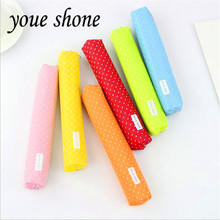 1pcs candy color long wave point pencil bag creative primary and secondary school for student cute Youe shone