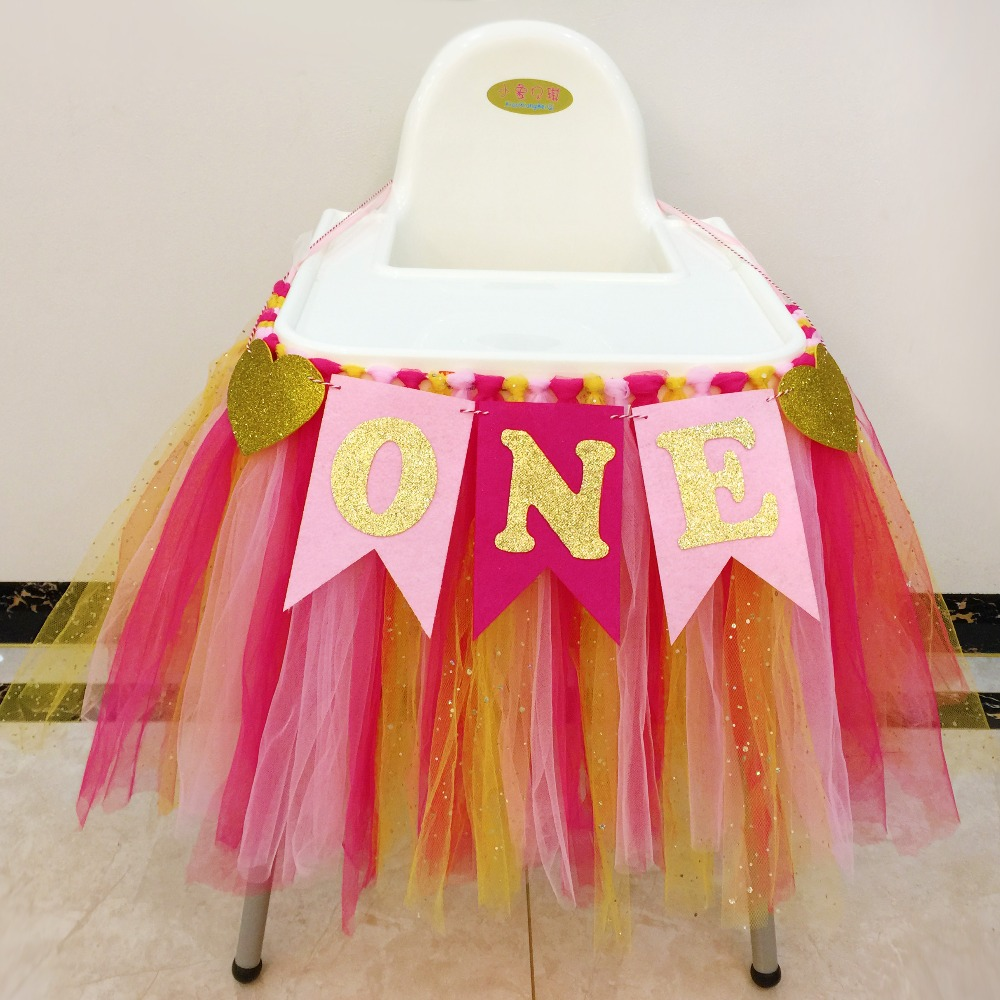 Baby Birthday Party Fluffy Yarn Tablecloth For Table Baby Sweet Birth Decorations Party Toys For Girls Princess Accessories Toy