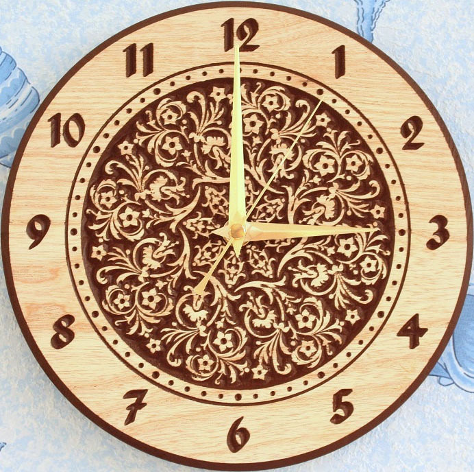 3d model New Wall Clock World_1 for cnc in STL and dxf file