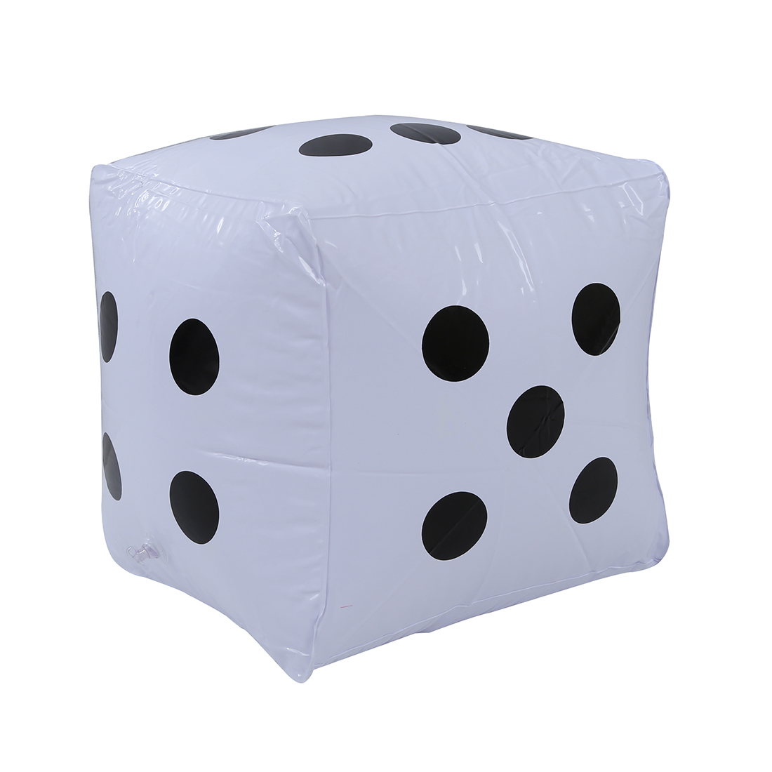2pcs Big Inflatable Dice Pool Toy Party Favours---White