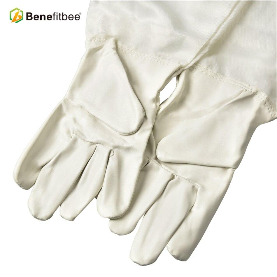Becitbee брендовые пчеловодческие перчатки из искусственной кожи перчатки для пчеловодов защитные рукава пчеловодческий перчатки оборудование для выращивания-in Инструменты для пчеловодства from Дом и животные
