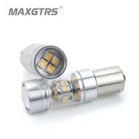 2x S25 BA15S 1156 140W SHARP Chip XBD LED Reverse Lights Fog Lamp P21W DRL Daytime