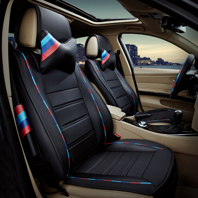 Brand Fashion High Quality Pu Leather Customized Car Seat Cover Set
