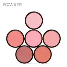 Focallure Makeup Blush Palette Professional Single Color Face Beauty Cheek Blusher Shading Pressed Powder Blusher Set Cosmetics