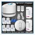 Kerui w2 wifi rfid gsm pstn línea telefónica de alarma de seguridad antirrobo wifi sistema de alarma de su casa gsm + 5 sensor de puerta 2 motion detector