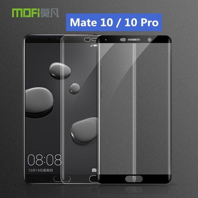 Huawei Compagnon 10 En Verre Trempé 3D Pleine Couverture Protecteur D'écran Huawei Mate10 Compagnon 10 Pro Verre Huawei Mate10 MOFi Trempé verre