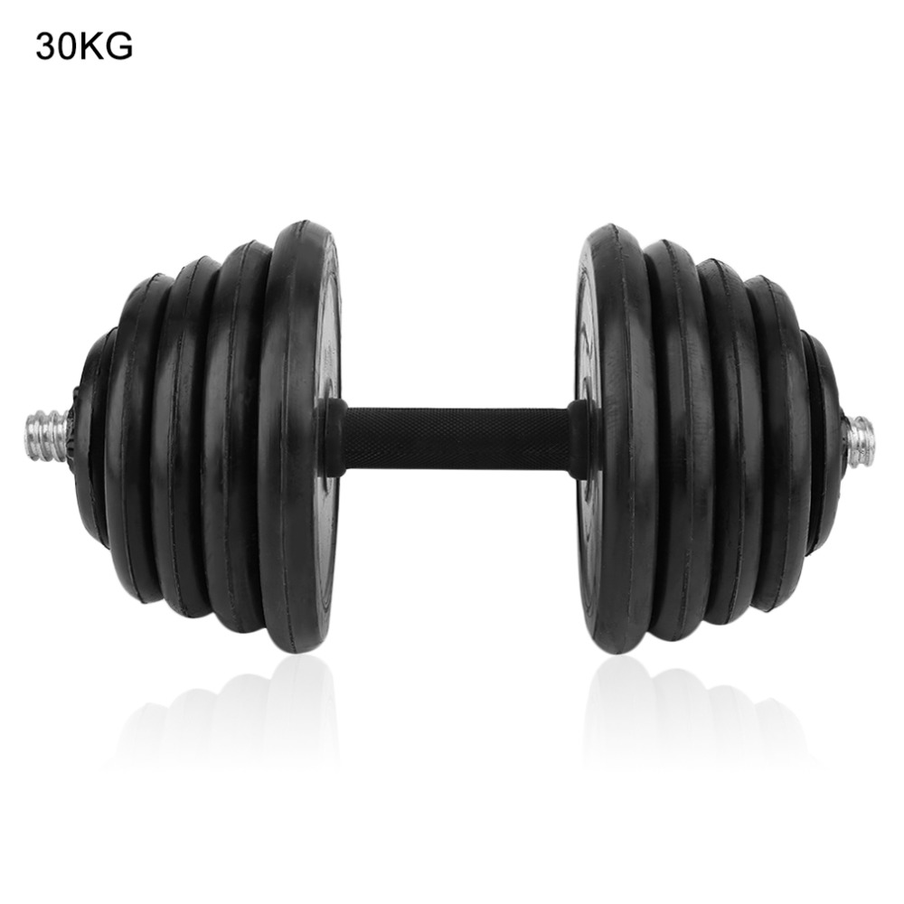 30KG Adjustable Muscle Dumbbell Exercise Dumbbell Gym Body-Building Weight Lifting Set Barbells Fitness Exercise adjustable water dumbbell weights for fitness and bodybuilding equitment high quality