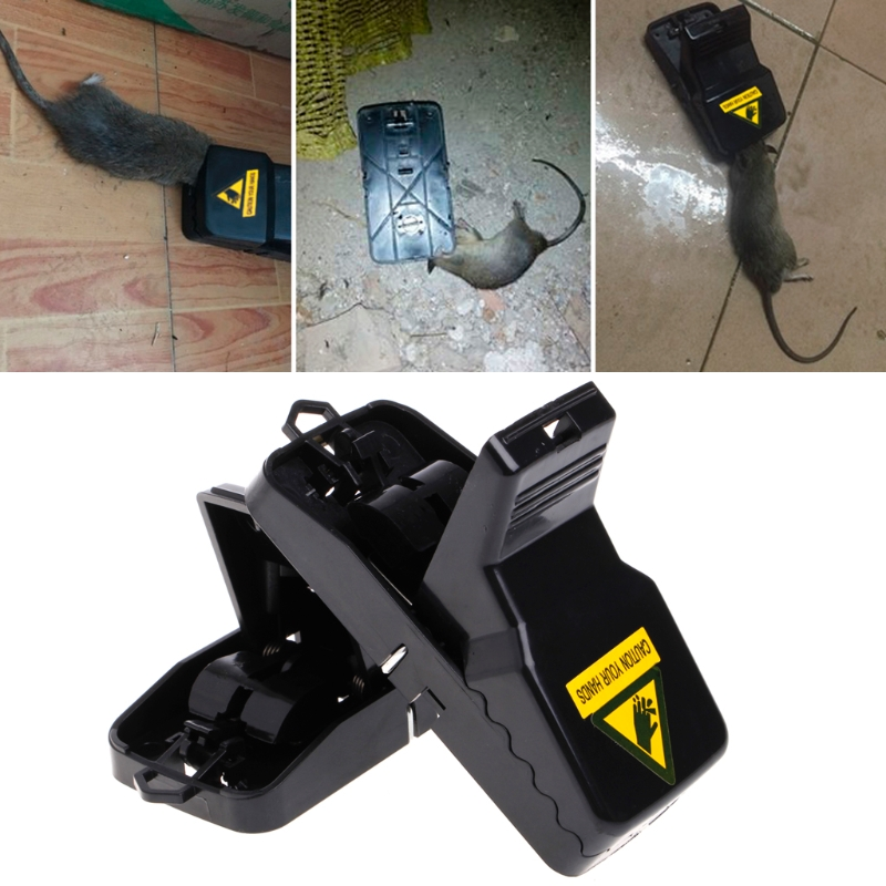 Reusable Powerful Rodent Killer Mousetrap Bait Spring Rodent Catcher Catching Catchers Mole Trap Pest Control Mice Catchers