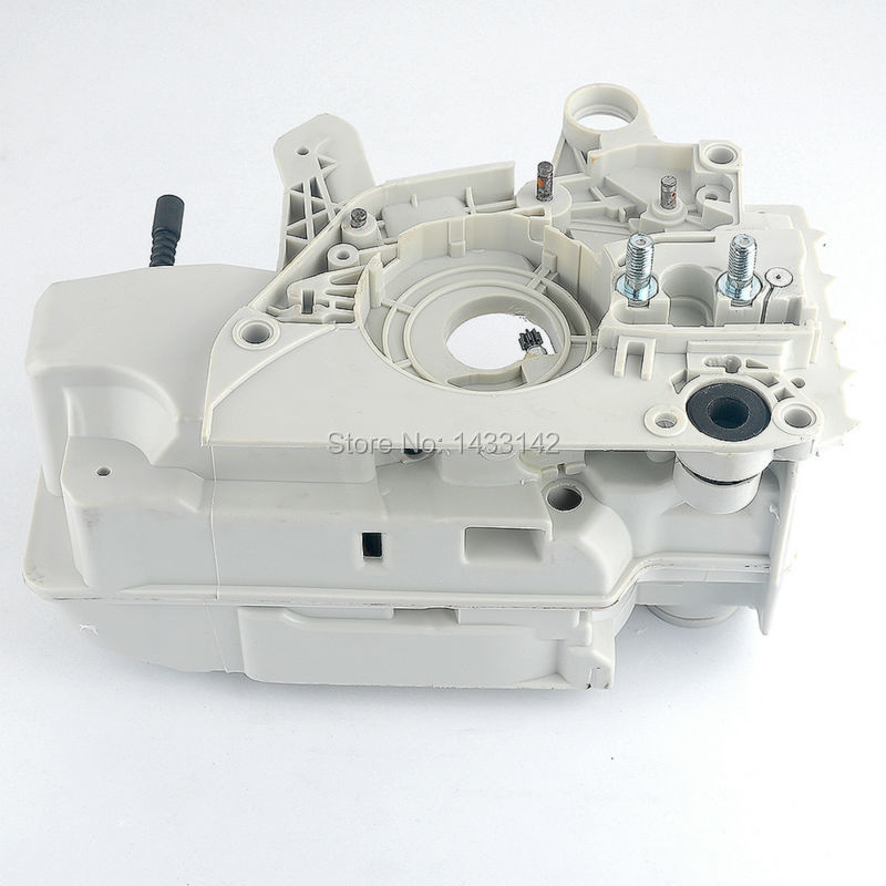 2016 Sale Petrol / Gas 2-stroke Motoserra Trimmer Carburetor Crankcase Fits for Stihl Chainsaw 021 023 025 Ms210 Ms230 Ms250 aluminum water cool flange fits 26 29cc qj zenoah rcmk cy gas engine for rc boat