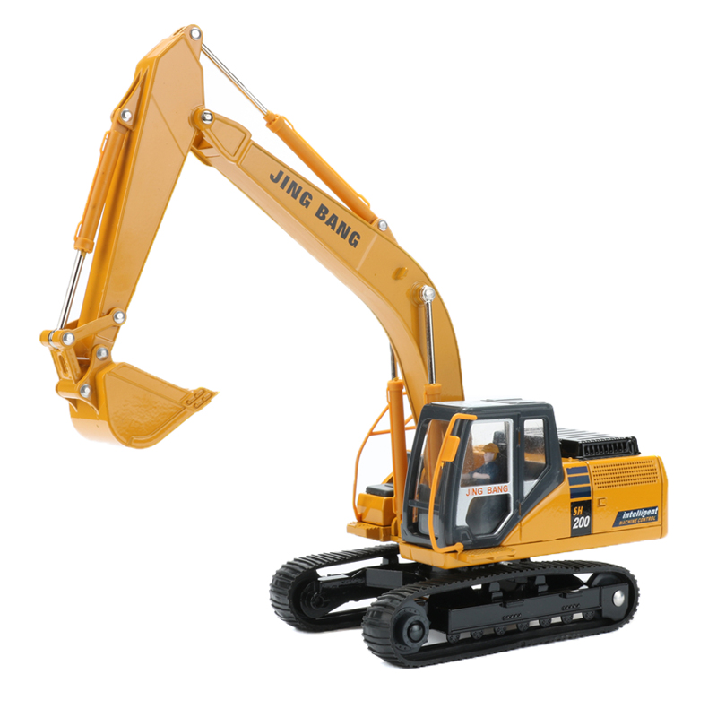 Construction Vehicle Toys For Boys : Excavator construction vehicle alloy truck model car