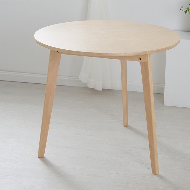 Modern cadeira mensal combinado simples nordic mesa for Mesa circular extensible