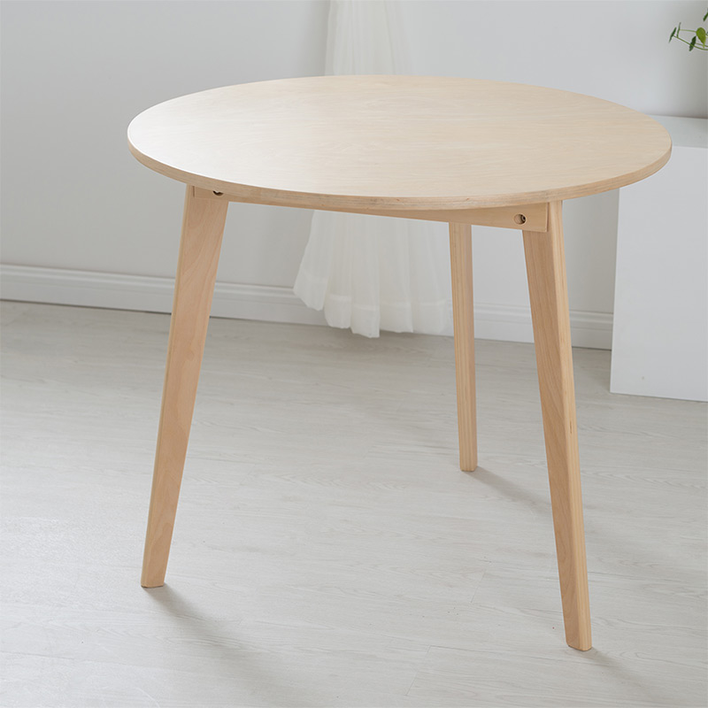 Online get cheap round table wood for Table extensible 80 cm de large