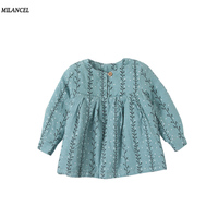 Milancel Baby Girl Dress 2017 Winter Kids Dresses For Girls Clothes Baby Clothing Thicken Lining Children