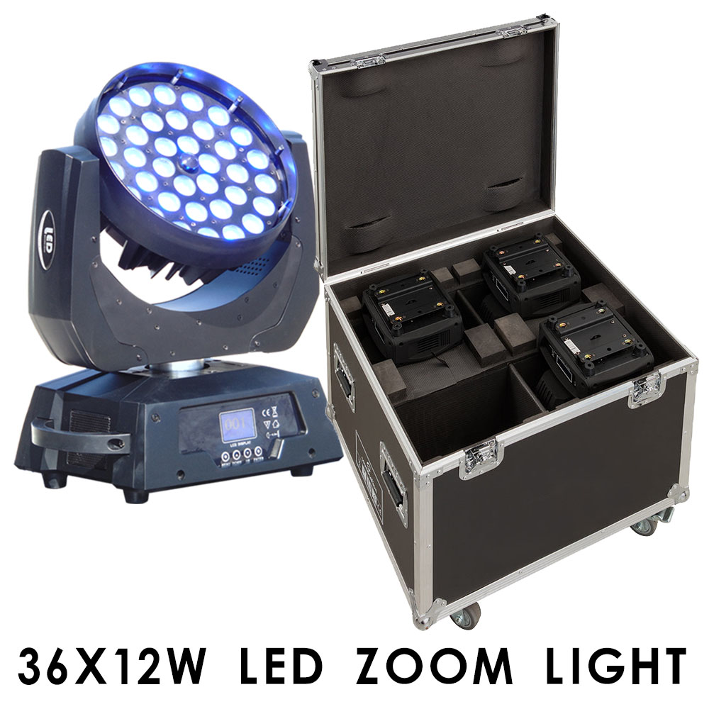 LED 36X12W zoom light with fly Cass 4in1  RGBW Stage Show Washing Effect for DiscoLED 36X12W zoom light with fly Cass 4in1  RGBW Stage Show Washing Effect for Disco