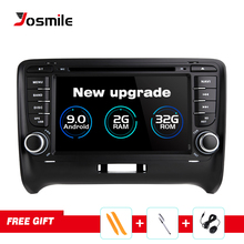 цена на Car Multimedia Player 2 Din Android 9.0 For AUDI TT MK2 8J 2016 2007 2008 2009 2010 2011 2012014 GPS Navigation System Radio DVD