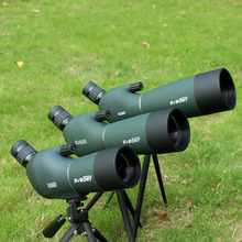 SVBONY SV28 Spotting Scope Zoom Telescope Angled 50/60/70mm Waterproof +Tripod Soft Case Monocular Binoculars F9308Z