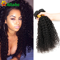 7a Virgem Malásia Cabelo Encaracolado Weave 4 Bundles Kinky Curly Extensões de Cabelo Humano 4c Annabelle Peerless Virgem Do Cabelo Cabelo