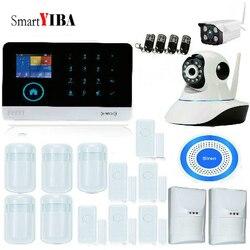 SmartYIBA WIFI 3G WCDMA GPRS WIFI Antifurto di Sicurezza Domestica sistema APP Remote Control Video IP Camera Pet Immune Pir sensore