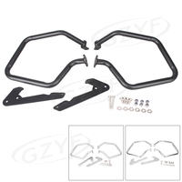Rear Engine Guard Protection Highway Crash Bar For BMW R1200RT 2014 2015 2016 Chrome Silver Black