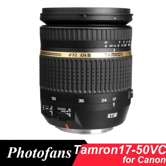 Tamron 17 50mm VC Lens Tamron SP AF 17 50 f 2 8 XR Di II