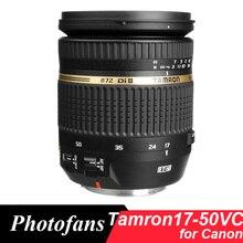 Tamron 17-50 мм VC Объектив Tamron SP AF 17-50 f/2.8 XR Di-II VC объективы для Canon 600D 700D 750D 760D 800D 60D 7D 70D 80D