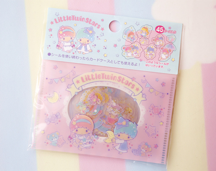 New Lovely My Melody  Little Twin Stars Cinnamoroll Pudding Dog PVC Sticker Decoration Planner Diary  Index Sticke