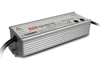 Original MEAN WELL 100W Single Output IP67 Constant Current /Voltage LED Driver Switching Power Supply With PFC HLG-100H